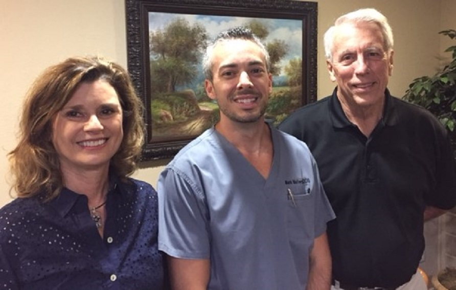 Dental practice for sale In Arlingotn Texas - Dr. Mark Mallery with Dr. Curtis and Sylvia Gleaton